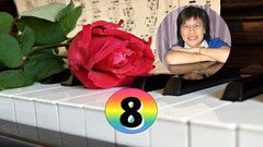 Play Piano 8 - Play Over the Rainbow by Ear & Free Improvise