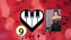 Step by Step Method to coordinate both hands using 3 techniques to dress up a song. Use Open 10th, …