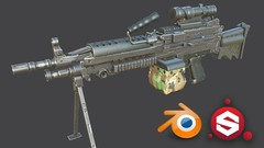 Use Blender to create high quality 3D assets for video games
