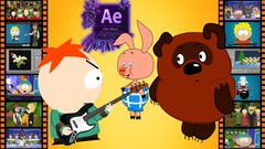 South Park style music video, New amazing adventures of Winnie-The-Pooh and other wonderful …