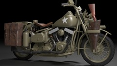 Learn hard surface modeling in Blender, how to manage a complex project, and how to light and render …