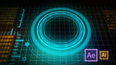 Design and Animate HUD Interface using After Effects and Illustrator