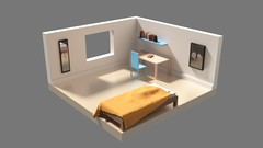 Create your own 3d scene using Blender in this fun project based course