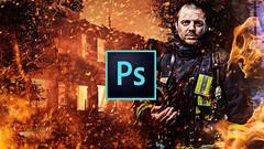 Curso de Photoshop com aprofundamento em correção de cor,  fluxo de trabalho e fusão de Imagens