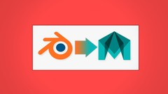 Learn how to transfer your modeling, unwrapping, and baking skills into Maya from Blender.