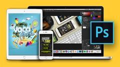 Curso Master Diseño Digital con Adobe Photoshop CC 2019 + 30 horas