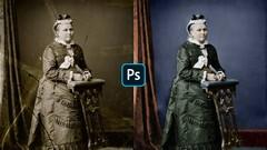 Aprende a restaurar fotografías viejas y dañadas con Photoshop: Grietas, faltantes, manchas, …