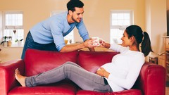 Give thanks to the men who developed these skills so they could keep up with their pregnant …
