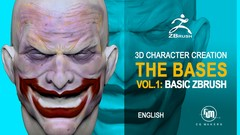 You'll learn the basic functions of Zbrush for you to start your career as a 3D character creator.