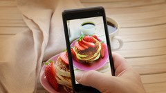 Learn How to Photograph Food with your Smartphone using professional techniques