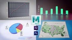 Create stunning data visualization and learn 3D animation in Autodesk Maya to impress at your next …
