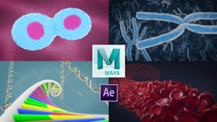 Learn to create biological 3D animations and problem-solve inside the industry standard software for …
