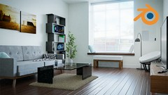 Learn how to design a realistic interior in Blender 3D!