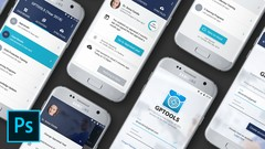 Android App UI Design with Adobe Photoshop & Material Design - UdemyFreebies.com