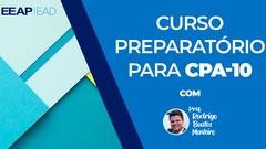 CPA10, CPA-10, ANBIMA, Preparatório: 24 aulas, 14 horas, 400 questões de prova, suporte on-line …