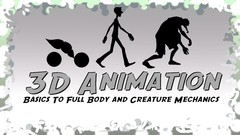 Learn to animate a ball bounce, bounce with a tail, standard walk and a zombie crawl! After, get a …