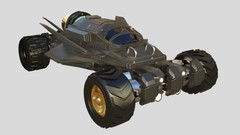 Learn how to 3D Model a hard surface futuristic car using Maya and render in Keyshot