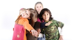 Handling young children at play and work