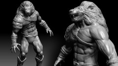 Learn How to Sculpt Model a Detailed Full Body Character Today in Zbrush