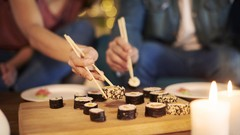 Learning how to make sushi is fun and easy!