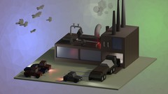 Learn the ropes of Blender 2.8 by modeling a low-poly factory from scratch, and giving it a …