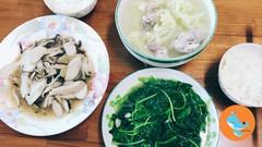{ 台灣美味 Taiwanese cuisine } 跟著君君快速上菜- 2菜1湯
