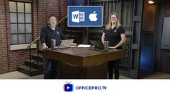 Word 2016 Expert for Mac - Long document, In-depth training