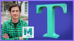 Demystify animating type for Motion Graphics artists in Autodesk Maya