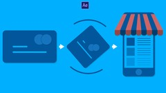 Design & Animate Credit card icon into Mobile phone icon creatively and seemlessly by using mutual …