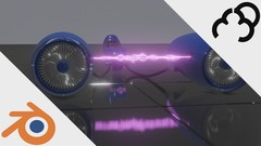 Go through my process from start to finish in creating a Scifi Podracer in Blender 2.8