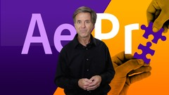 Learn how After Effects connects with Adobe Premiere Pro and the efficient workflow between them