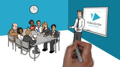 Design professional videos in an easy and simple way using the videoscribe software.