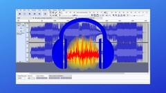 Audio editing with Audacity