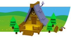 Learn key modelling techniques & create a colourful 3D cartoon scene