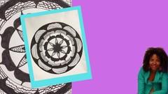 Mini Mandala Kurs- Mandala Zeichnen für Anfänger - KostenloseKurse.com