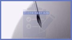 21 CFR Part 820 (Medical Device QSR) - Practice Exam
