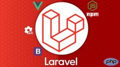 Imágen de Laravel 6 a 8 desde cero + integración con Bootstrap 4 y Vue