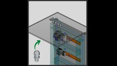 From a plain 3D STEP file to a fully functional Eplan macro of a cable gland + drilling pattern and …