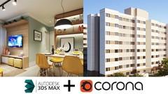 3DS Max + Corona Render: do Básico ao Avançado sem enrolação