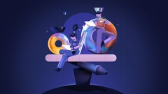 Create art using tools such as Blender, Affinity Designer, Affinity Photo, Photoshop, MagicaVoxel, …