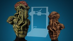 3D Printing Through To Painting