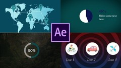 Learn how to use Adobe after effects To Create infographics & data visualization