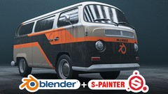 Marwan Hussein details the steps to create realistic vehicle with Blender 2.8 and Substance Painter …