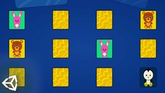 Unity C# 2d- Memory Matching Game - UdemyFreebies.com