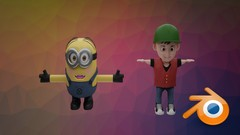 Learn Modeling , UV Unwrapping , Adding Materials , Texture Painting , Rigging , Animating And Much …