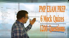 6 PMP mock exams 1200 Questions PMI & PMBOK Udemy Unofficial