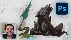Learn Concept Art and Design amazing props using Photoshop