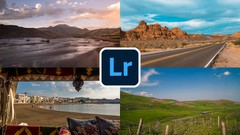 Learn how to edit landscape photos in lightroom and master 4 styles of editing in this one course!