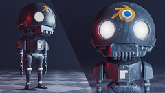 Everything you need to create realistic Star War K-2SO Robot from start to finish with Blender and …