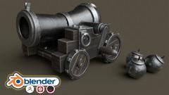 Blender 2.8 Stylised 3D Game Model Complete Beginners Guide - UdemyFreebies.com